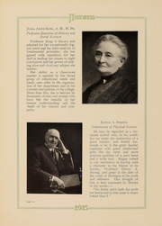 Page 11, 1915 Edition, Eastern Michigan University - Aurora Yearbook (Ypsilanti, MI) online yearbook collection
