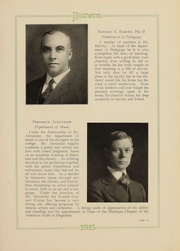 Page 16, 1915 Edition, Eastern Michigan University - Aurora Yearbook (Ypsilanti, MI) online yearbook collection