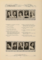 Page 101, 1917 Edition, Eastern Michigan University - Aurora Yearbook (Ypsilanti, MI) online yearbook collection