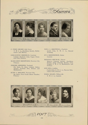 Page 106, 1917 Edition, Eastern Michigan University - Aurora Yearbook (Ypsilanti, MI) online yearbook collection