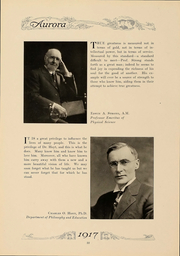 Page 25, 1917 Edition, Eastern Michigan University - Aurora Yearbook (Ypsilanti, MI) online yearbook collection