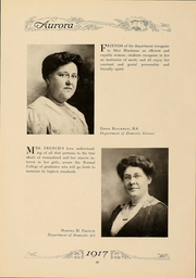 Page 29, 1917 Edition, Eastern Michigan University - Aurora Yearbook (Ypsilanti, MI) online yearbook collection