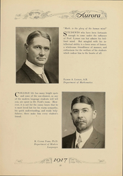 Page 30, 1917 Edition, Eastern Michigan University - Aurora Yearbook (Ypsilanti, MI) online yearbook collection