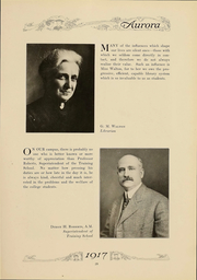 Page 32, 1917 Edition, Eastern Michigan University - Aurora Yearbook (Ypsilanti, MI) online yearbook collection