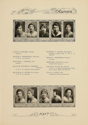 Page 58, 1917 Edition, Eastern Michigan University - Aurora Yearbook (Ypsilanti, MI) online yearbook collection