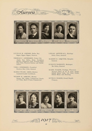 Page 59, 1917 Edition, Eastern Michigan University - Aurora Yearbook (Ypsilanti, MI) online yearbook collection
