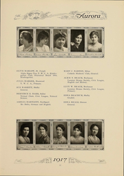 Page 60, 1917 Edition, Eastern Michigan University - Aurora Yearbook (Ypsilanti, MI) online yearbook collection