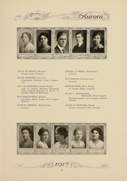 Page 62, 1917 Edition, Eastern Michigan University - Aurora Yearbook (Ypsilanti, MI) online yearbook collection