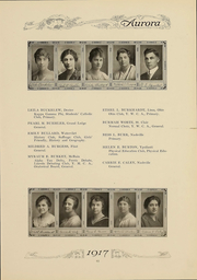 Page 64, 1917 Edition, Eastern Michigan University - Aurora Yearbook (Ypsilanti, MI) online yearbook collection
