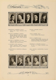 Page 65, 1917 Edition, Eastern Michigan University - Aurora Yearbook (Ypsilanti, MI) online yearbook collection