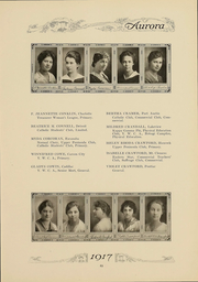 Page 68, 1917 Edition, Eastern Michigan University - Aurora Yearbook (Ypsilanti, MI) online yearbook collection