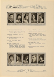 Page 69, 1917 Edition, Eastern Michigan University - Aurora Yearbook (Ypsilanti, MI) online yearbook collection