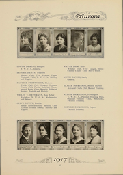 Page 70, 1917 Edition, Eastern Michigan University - Aurora Yearbook (Ypsilanti, MI) online yearbook collection