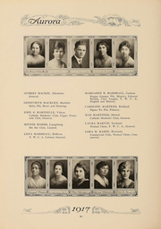 Page 93, 1917 Edition, Eastern Michigan University - Aurora Yearbook (Ypsilanti, MI) online yearbook collection
