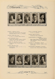 Page 95, 1917 Edition, Eastern Michigan University - Aurora Yearbook (Ypsilanti, MI) online yearbook collection