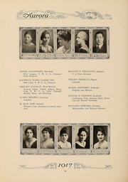 Page 97, 1917 Edition, Eastern Michigan University - Aurora Yearbook (Ypsilanti, MI) online yearbook collection