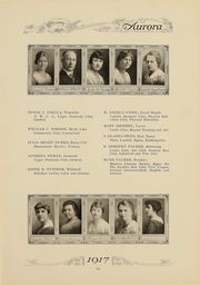 Page 98, 1917 Edition, Eastern Michigan University - Aurora Yearbook (Ypsilanti, MI) online yearbook collection