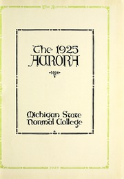 Page 5, 1925 Edition, Eastern Michigan University - Aurora Yearbook (Ypsilanti, MI) online yearbook collection