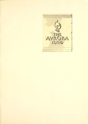 Page 5, 1929 Edition, Eastern Michigan University - Aurora Yearbook (Ypsilanti, MI) online yearbook collection