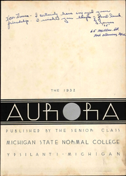 Page 9, 1932 Edition, Eastern Michigan University - Aurora Yearbook (Ypsilanti, MI) online yearbook collection