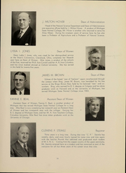 Page 13, 1939 Edition, Eastern Michigan University - Aurora Yearbook (Ypsilanti, MI) online yearbook collection