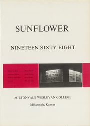 Page 5, 1968 Edition, Miltonvale Wesleyan College - Sunflower Yearbook (Miltonvale, KS) online yearbook collection
