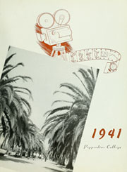 Page 7, 1941 Edition, Pepperdine University - Promenade Yearbook (Malibu, CA) online yearbook collection