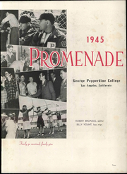 Page 9, 1945 Edition, Pepperdine University - Promenade Yearbook (Malibu, CA) online yearbook collection