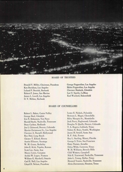 Page 10, 1959 Edition, Pepperdine University - Promenade Yearbook (Malibu, CA) online yearbook collection