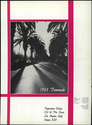 Page 7, 1963 Edition, Pepperdine University - Promenade Yearbook (Malibu, CA) online yearbook collection