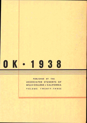 Page 9, 1938 Edition, Mills College - Mills Crest Yearbook (Oakland, CA) online yearbook collection