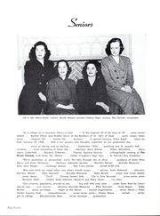 Page 16, 1949 Edition, Mount St Marys College - Yearbook (Los Angeles, CA) online yearbook collection