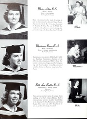 Page 14, 1952 Edition, Mount St Marys College - Yearbook (Los Angeles, CA) online yearbook collection