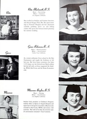 Page 15, 1952 Edition, Mount St Marys College - Yearbook (Los Angeles, CA) online yearbook collection