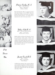 Page 17, 1952 Edition, Mount St Marys College - Yearbook (Los Angeles, CA) online yearbook collection