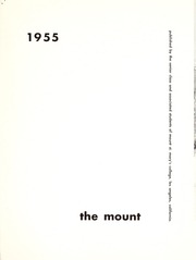 Page 5, 1955 Edition, Mount St Marys College - Yearbook (Los Angeles, CA) online yearbook collection