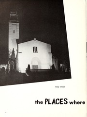 Page 8, 1955 Edition, Mount St Marys College - Yearbook (Los Angeles, CA) online yearbook collection