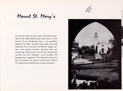 Page 5, 1961 Edition, Mount St Marys College - Yearbook (Los Angeles, CA) online yearbook collection