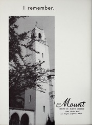 Page 4, 1965 Edition, Mount St Marys College - Yearbook (Los Angeles, CA) online yearbook collection