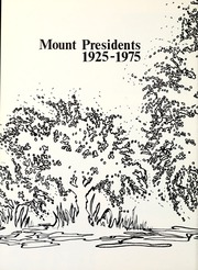 Page 12, 1975 Edition, Mount St Marys College - Yearbook (Los Angeles, CA) online yearbook collection