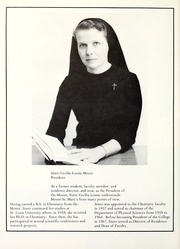Page 16, 1975 Edition, Mount St Marys College - Yearbook (Los Angeles, CA) online yearbook collection