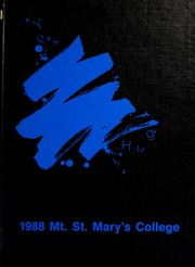 Page 1, 1988 Edition, Mount St Marys College - Yearbook (Los Angeles, CA) online yearbook collection