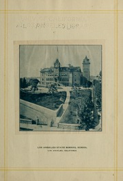 Page 9, 1902 Edition, University of California Los Angeles - Bruin Life / Southern Campus Yearbook (Los Angeles, CA) online yearbook collection