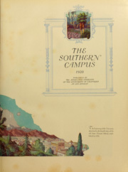 Page 7, 1928 Edition, University of California Los Angeles - Bruin Life / Southern Campus Yearbook (Los Angeles, CA) online yearbook collection