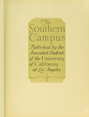 Page 9, 1931 Edition, University of California Los Angeles - Bruin Life / Southern Campus Yearbook (Los Angeles, CA) online yearbook collection