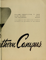 Page 7, 1944 Edition, University of California Los Angeles - Bruin Life / Southern Campus Yearbook (Los Angeles, CA) online yearbook collection
