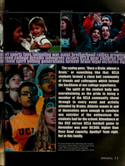 Page 17, 2001 Edition, University of California Los Angeles - Bruin Life / Southern Campus Yearbook (Los Angeles, CA) online yearbook collection