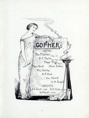 Page 16, 1893 Edition, University of Minnesota - Gopher Yearbook (Minneapolis, MN) online yearbook collection