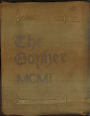 Page 1, 1901 Edition, University of Minnesota - Gopher Yearbook (Minneapolis, MN) online yearbook collection