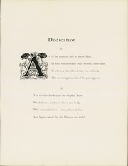 Page 11, 1905 Edition, University of Minnesota - Gopher Yearbook (Minneapolis, MN) online yearbook collection